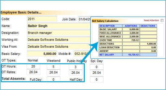 Payroll System in Dubai, Abu Dhabi, UAE